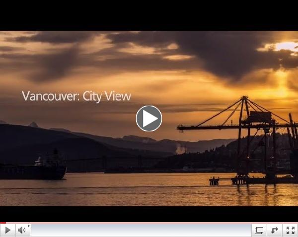 Vancouver: City View (time-lapse)