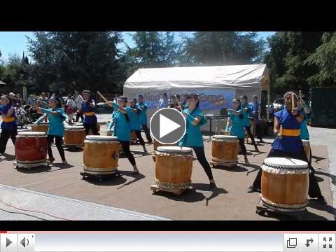 Haru Matsuri Festival - youth drummers
