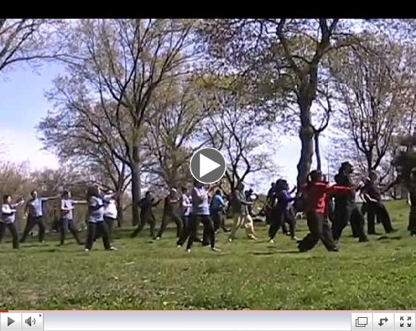 World Tai Chi and Qigong Day, Prospect Park, Brooklyn, NY, 27 April 2013