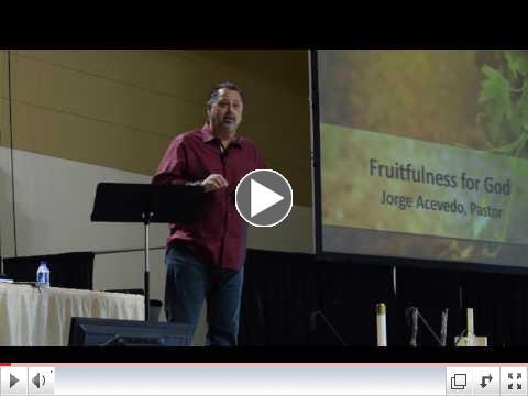 Day 2 - #1 Fruitfulness for God