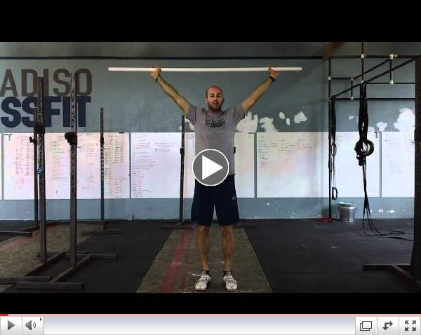 Paradiso CrossFit - Burgener Warmup, Snatch Drop