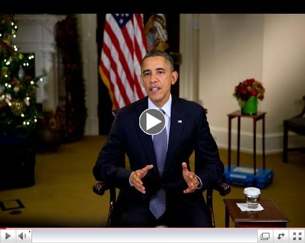 Weekly Address: Nation Grieves for Those Killed in Tragic Shooting in Newtown, CT