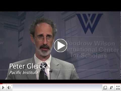 Peter Gleick - Climate Change and the Water Cycle