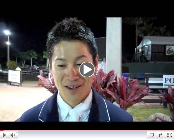Eiken Sato Wins $82,000 Horseware Ireland Grand Prix at 2013 FTI WEF