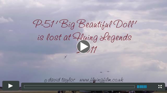 The loss of P-51 Big Beautiful Doll at Flying Legends 2011.