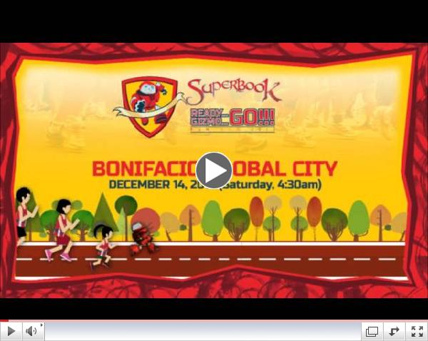 Superbook Fun Run with Isabel Oli