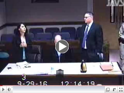 Start 12:13:55 in the video the following conversation took place in open court.