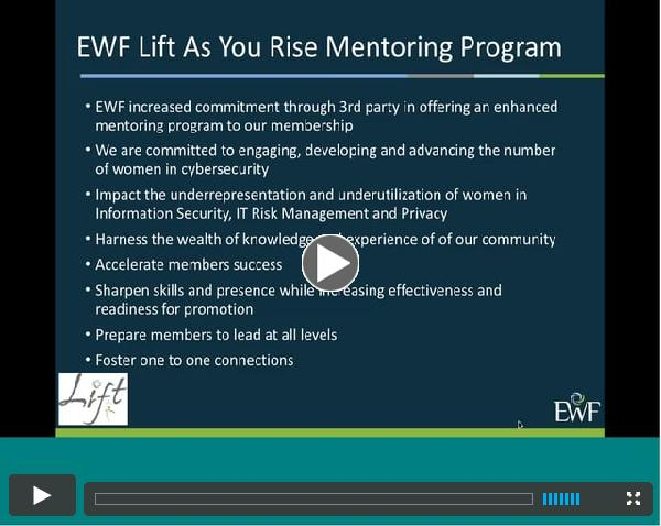 EWF - Lift as You Rise, Mentoring Program