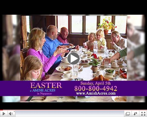 Spend Easter at Amish Acres in 2015!