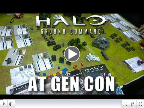 Halo: Ground Command @ Gen Con - Canon Fodder