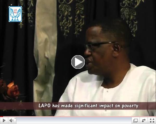 LAPO is committed to poverty alleviation, Chat With The Managing Director of LAPO