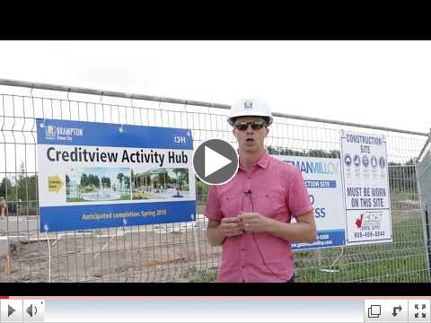 Video: Great Things are Happening at Creditview Activity Hub