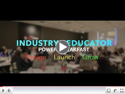 Industry and Educator OC Power Breakfast 2
