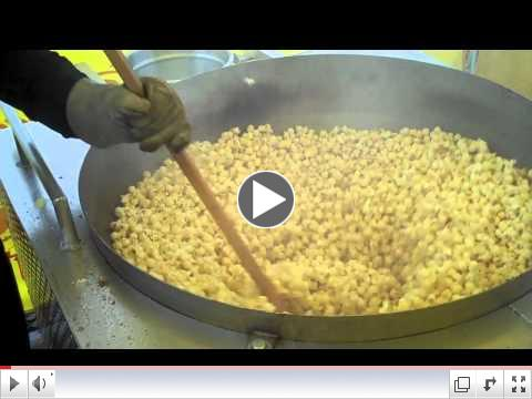 greg sweet kettle corn machine