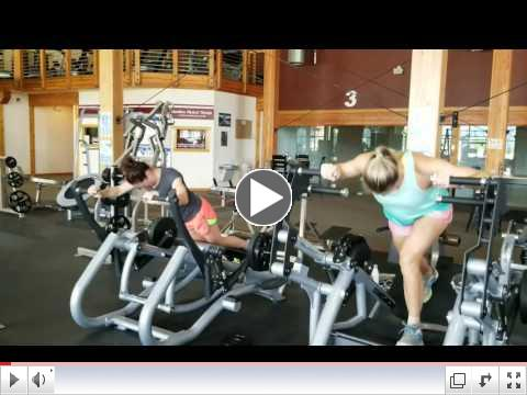 Crystal and Jessica Richter on the Full Body and Glute Press
