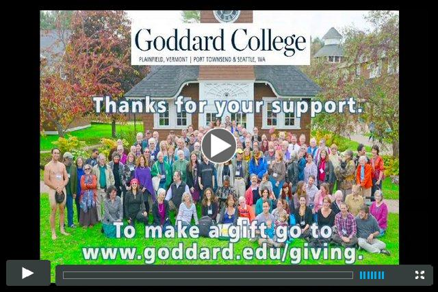 GIVING TO GODDARD