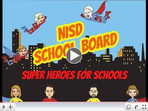 Thank you, NISD Board of Trustees!