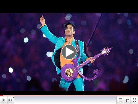 Prince at the Super Bowl