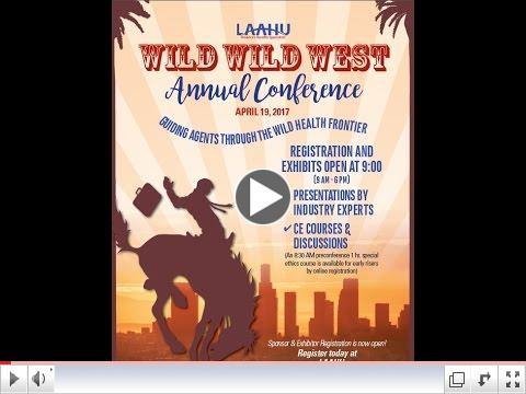 2017 LAAHU Annual Conference - Wild Wild West