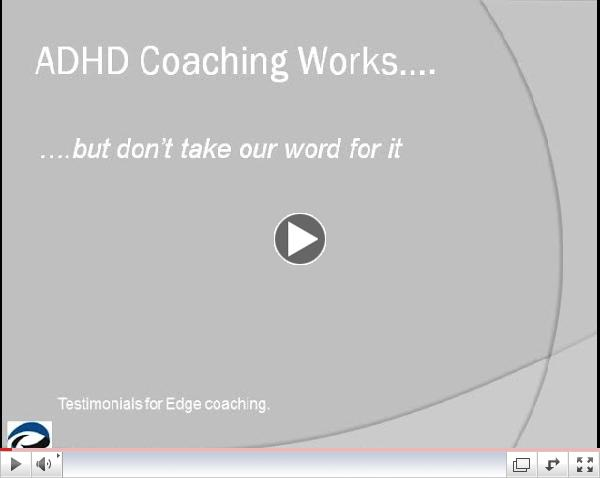 ADHD Coaching works