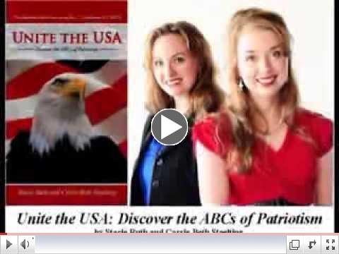 Watch a 90 second video about Unite the USA -the book!