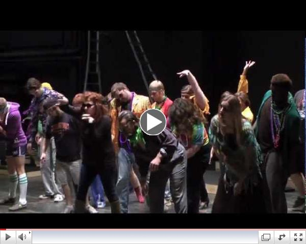 A litle fun from the cast of Sweeney Todd!
