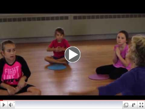 Intro to Yoga Dots part 5: End of Lesson Breathing