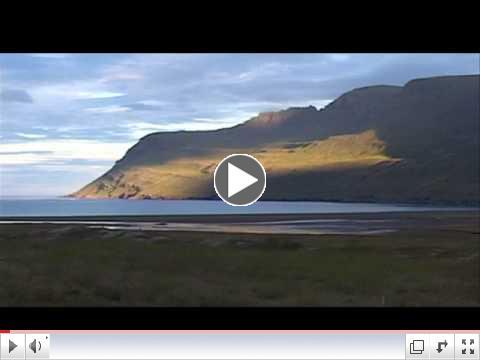 Paysages de l'Islande du Nord