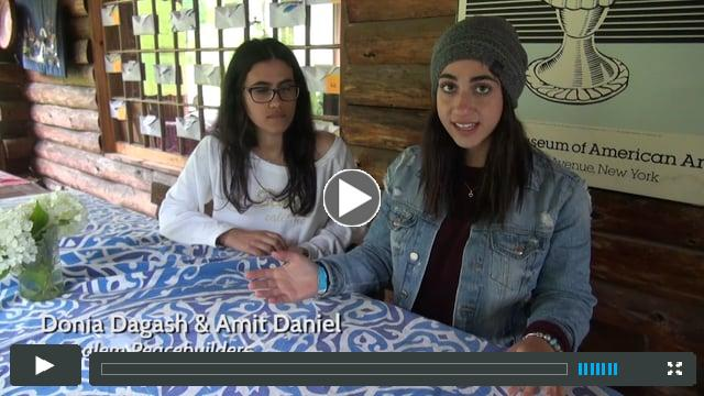 Jerusalem Peacebuilders 2017 Profiles: Donia and Amit