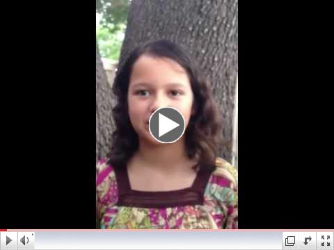 Girl Scout Salma J.'s Anti-Bullying Campaign
