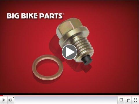 Big Bike Parts Magnetic Drain Plugs