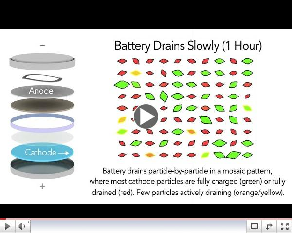Battery Particle Simulation