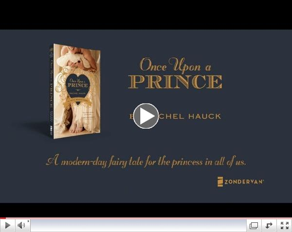 Once Upon a Prince, Book Trailer - Rachel Hauck