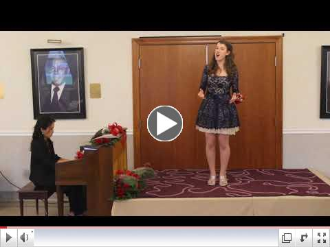 2017 Vocal Scholarship, November 12, 2017 Video of Italian American Executives of Transportation Sponsorship