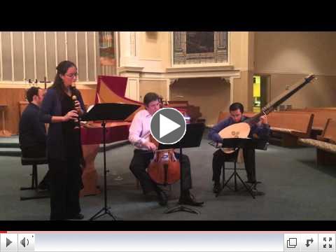 Sammartini Sonata for recorder in d minor