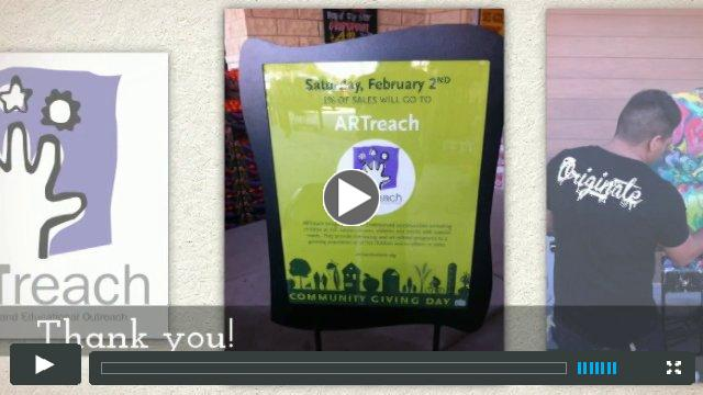 ARTreach Community Giving Day at Whole Foods in Katy
