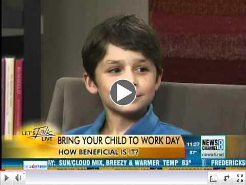Should You Bring Your Child to Work?