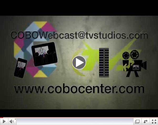 Webcasting in Cobo Center Demo