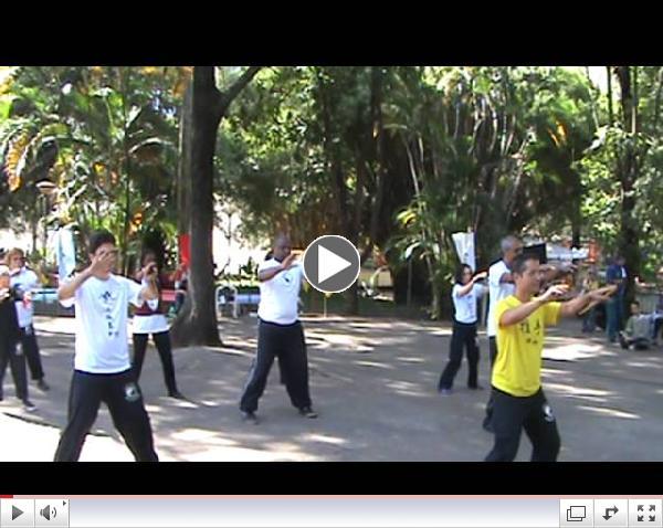 Comemora????o do World Tai Chi Day 2013