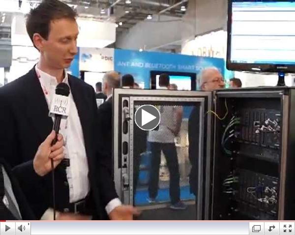 2013 MWC Aeroflex E500 FDD TDD UE device handover announcement