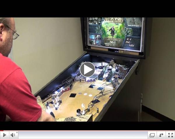 Early Version Whitewood - The Hobbit Pinball Machine
