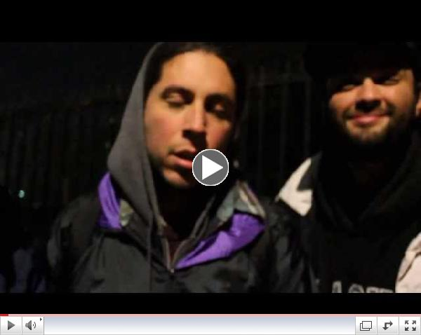 Chilean Hip Hop Group in Solidarity with Oscar