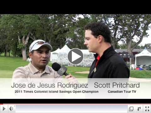 Jose Rodriguez Recaps His Win at the Times Colonist Island Savings Open