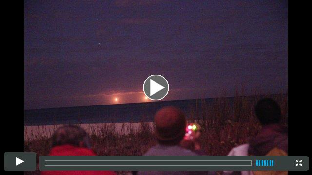 Twin Ships Witnessed ? Vero Beach FL ? January 27, 2015