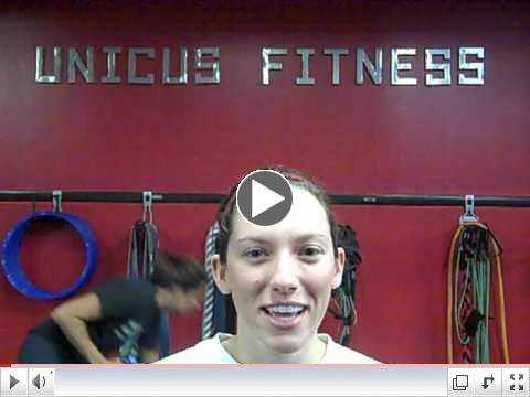 UNICUS Fitness Wedding Boot Camp testimonial