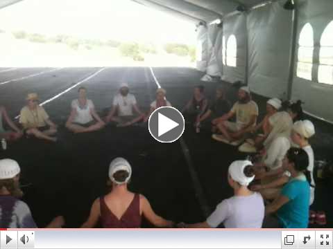 Wahe Guru Mantra at Solstice 2012 by Damaris