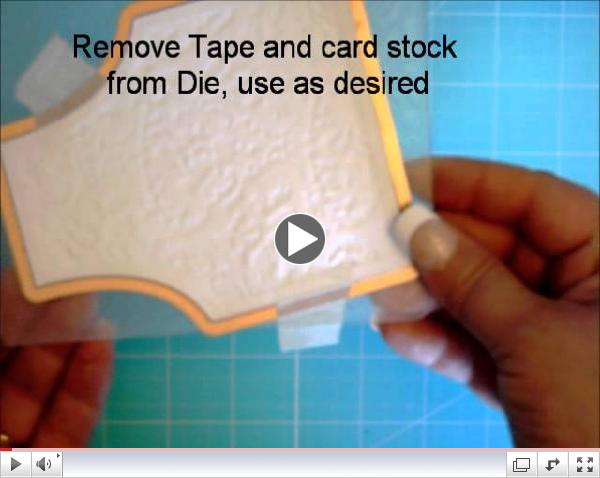 Our Daily Bread Designs Embossing Cutting Dies Tutorial