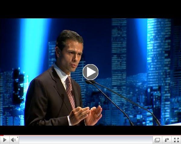 Video Discurso del Presidente Pe�a Nieto