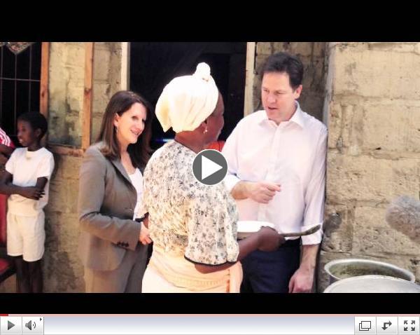 Proud of UK Aid: Nick Clegg International Development Speech Highlights
