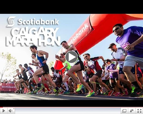 Scotiabank Calgary Marathon Official Promo Video 2015